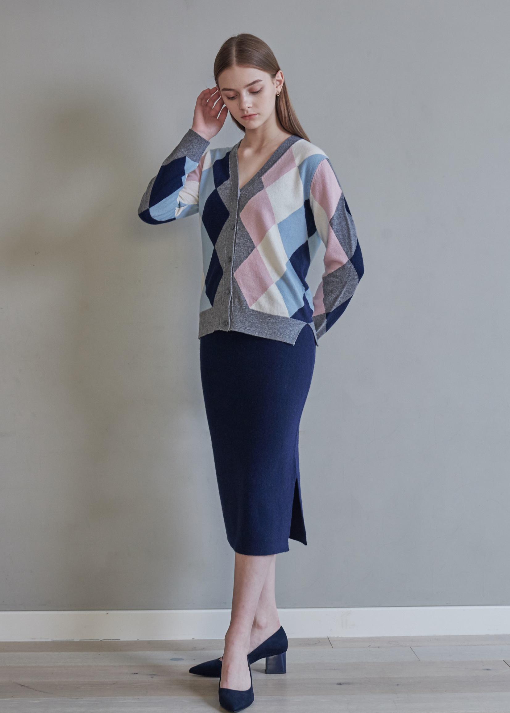 Afternoon Glow Skirt_30% Cashmere